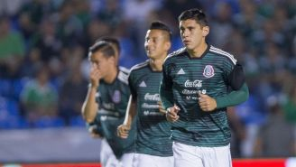 Jesús Angulo, previo a un juego con la Selección Mexicana