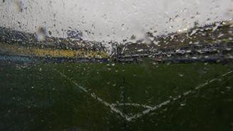 Cancha de Boca bajó intensa lluvia previo a Final de Copa Libertadores