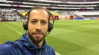 Mauricio Ymay en el Estadio Azteca