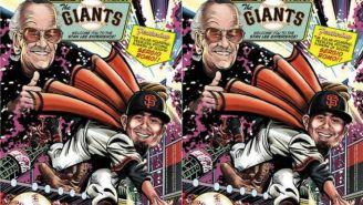 Stan Lee y Sergio Romo en un cómic