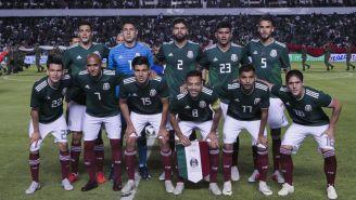 Selección Mexicana en duelo ante Chile