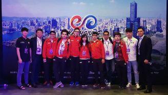 La delegación mexicana que viajó al torneo de Kaohsiung 2018