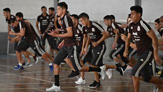 Selección Mexicana, durante entrenamiento