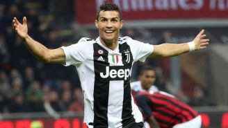 Cristiano festeja anotación con Juventus