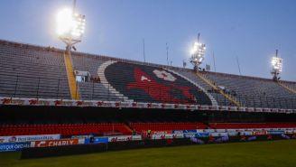 Gradas del estadio Luis 'Pirata' Fuente
