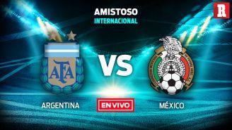 EN VIVO y EN DIRECTO: Argentina vs México