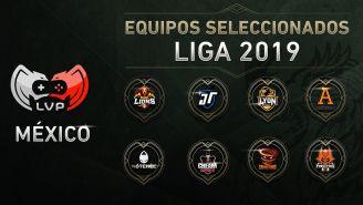 Éstas son las ocho escuadras que competirán en la próxima Liga Nacional de League of Legends