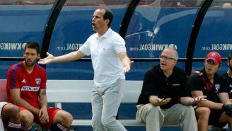 Oscar Pareja durante un partido del FC Dallas
