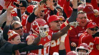Aficionados de los Chiefs durante un partido