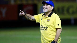 Maradona dirigiendo a Dorados