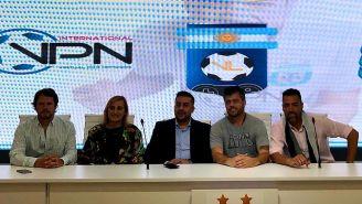Los directivos de la VPN y del futbol argentino presentaron la nueva liga