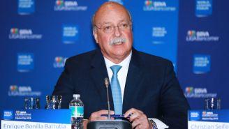 Bonilla, durante conferencia de prensa