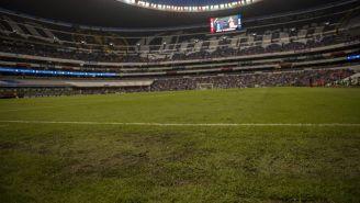 Terreno de juego del Estadio Azteca