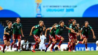 Tri Femenil Sub 17 festeja pase a la Final del Mundial