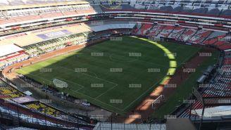 Así luce la cancha del Azteca para el duelo de Vuelta entre Cruz Azul y Querétaro