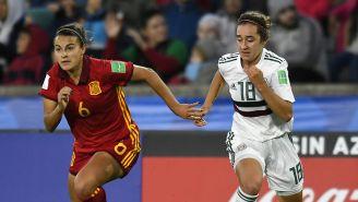 Acciones de la Final entre España y México Sub 17