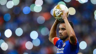 Adrián Aldrete en el partido contra Querétaro
