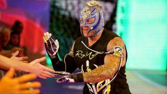 Rey Mysterio en una función de la WWE