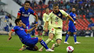 América y Cruz Azul empataron sin goles en la cancha del Estadio Azteca
