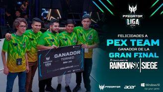 Los jugadores de PEX Team se llevaron a casa un premio de 30 mil pesos