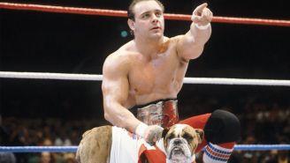 Dynamite Kid cuando formaba parte de los British Bulldogs