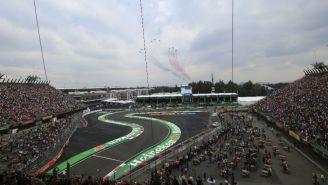 Vista del GP de México 2018