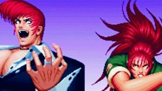 Captura del videojuego The King of Fighters