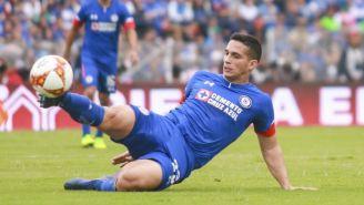 Iván Marcone durante un partido del Cruz Azul