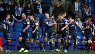 Valladolid, festeja triunfo contra Real Sociedad en Anaoeta