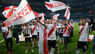River Plate festeja título de la Copa Livertadores