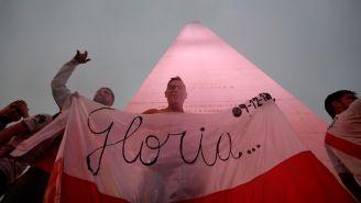 Aficionados de River Plate festejan título de Libertadores