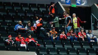 Fans de los Bulls en la Arena Ciudad de México