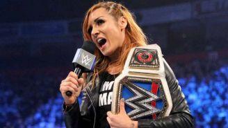 Becky Lynch durante SmackDown Live