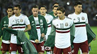 Seleccionados antes del segundo juego amistoso vs Argentina en 2018