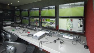 Cabina del VAR en la Liga MX