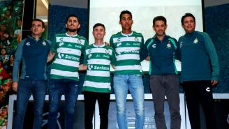 Irarragorri y Salvador Reyes presentaron a Diego Valdés, Brayan Garnica y Hugo Rodríguez