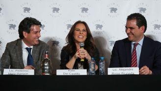 Kate del Castillo, en conferencia de prensa