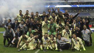 América celebra título de Campeón del Apertura 2018