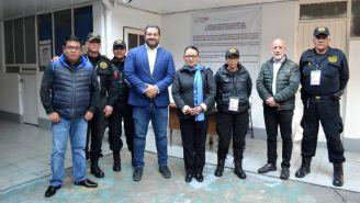 Antonio Hazael Ruíz hace un recorrido por los Centros de Sanciones Administrativas
