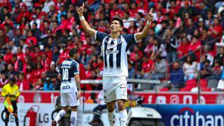 Molina celebra anotación con Monterrey