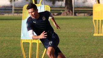 Jesús Molina entrena con Chivas de cara al Clausura 2019