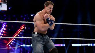 John Cena, durante una lucha de WWE