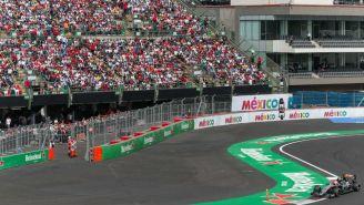 Checo Pérez, durante GP de México