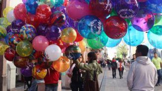 Se espera que venta de globos crezca un 300 por ciento