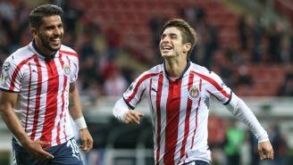 Brizuela celebra gol del triunfo contra Xolos