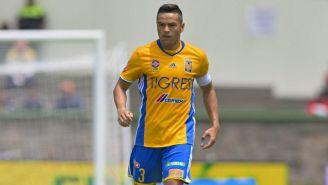 Juninho, en un juego de Tigres en el A2018
