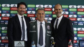 Gerardo Martino, en su presentación como entrenador del Tri