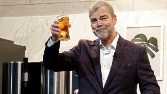 La máquina de cerveza fue presentada por LG