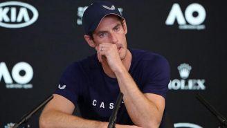 Andy Murray no pudo contener el llanto en conferencia de prensa