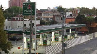 Gasolinera de PEMEX
